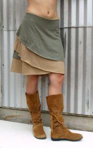 Organic Cotton And Hemp Skirts
